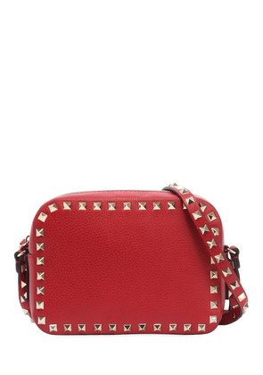 ROCKSTUD LEATHER CAMERA BAG