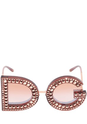 DG CRYSTALS EMBELLISHED SUNGLASSES
