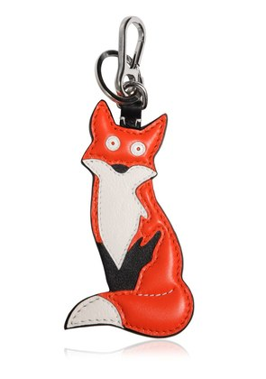 FOX CHARM LEATHER KEY CHAIN