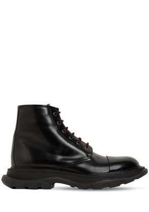 50MM LEATHER LACE-UP BOOTS