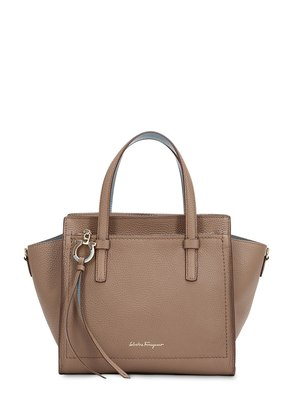SMALL AMY LEATHER TOP HANDLE BAG