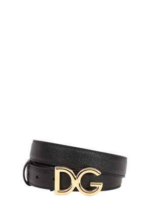 25MM DG DAUPHINE LEATHER BELT