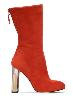 105MM SUEDE BOOTS