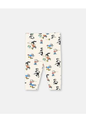 Stella McCartney Kids Red Floral Print Dandy Print Trousers, Unisex, Size 1-3