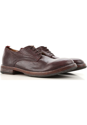 Lace Up Shoes for Men Oxfords, Derbies and Brogues On Sale, Smoked, Leather, 2017, 6.5 9 9.5 Moma