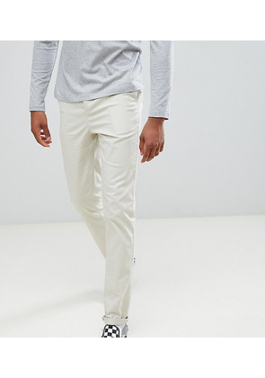 ASOS DESIGN Tall Slim Chinos In Putty - Oatmeal