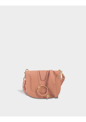 Hana Small Crossbody Bag in Cement Beige Grained Goatskin See By Chlo gWT1PYApr