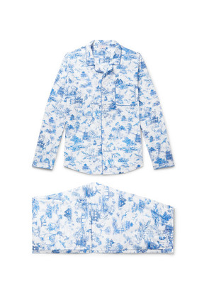 Ledbury 11 Printed Cotton Pyjama Set