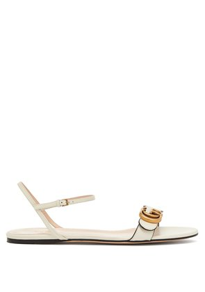 Marmont leather sandals