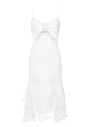 Olympiah midi dress - White