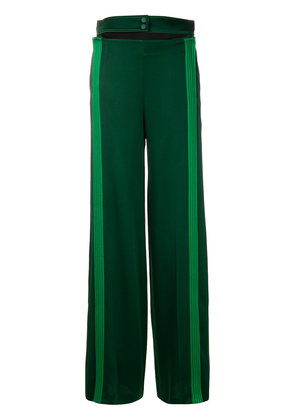 Valentino Hammered trousers - Green