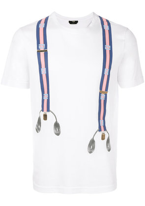 Fendi graphic print T-shirt - White