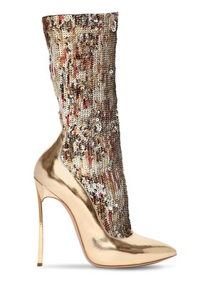 120MM THE PARTY BLADE SEQUINED BOOTS