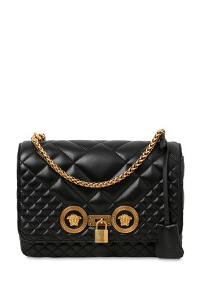 MEDIUM ICON QUILTED LEATHER SHOULDER BAG