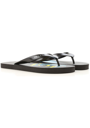 Flip Flops for Men On Sale, Blue, Rubber, 2017, S (EU 40-41) M (EU 42-43) L (EU 44-45) Paul Smith