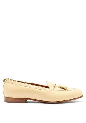 Quentin tassel leather loafers
