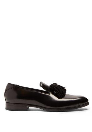 Foxley tassel leather loafers