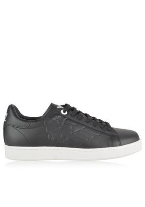 EA7 Low Top Eagle Print Trainers