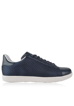 ARMANI JEANS Weaved Low Top Trainers