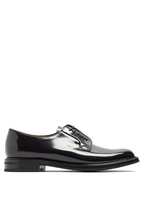 Shannon 2 lace-up leather derby shoes