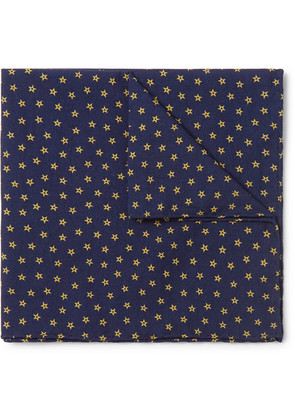 Printed Cotton Pocket Square