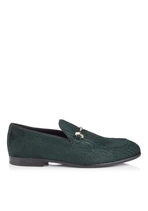 MARTI Bottle Persian Pony Loafers