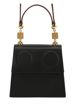 MEDIUM MARIONETTE LEATHER SHOULDER BAG