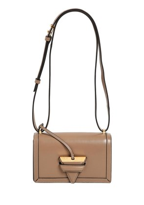 SMALL BARCELONA LEATHER SHOULDER BAG