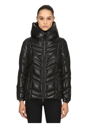 FULIGULE NYLON LAQUÈ DOWN JACKET