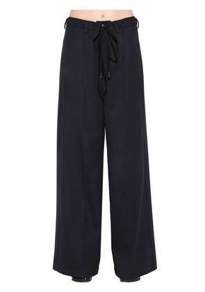 OVERSIZED WOOL BLEND PANTS