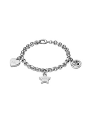 Gucci Trademark Charm Bracelet in Metallics