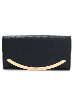 See By Chloé Woman Lizzie Textured-leather Wallet Black Size -