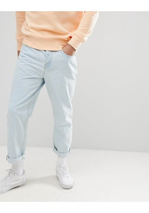 ASOS DESIGN Skater Jeans In Light Wash Blue - Light wash blue