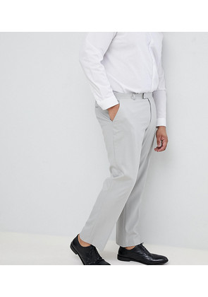 ASOS PLUS Slim Trousers In Ice Grey - Ice grey
