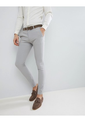 ASOS DESIGN Super Skinny Suit Trousers In Ice Grey - Ice grey