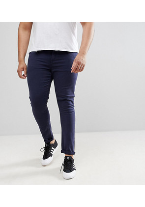 ASOS DESIGN Plus super skinny jeans in navy - Navy