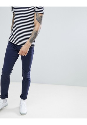 ASOS DESIGN skinny jeans in navy - Navy