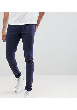 ASOS DESIGN Tall super skinny jeans in navy - Navy