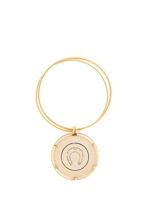 Money Go Round 18kt gold bangle