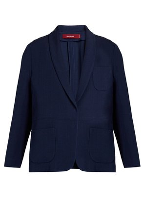Mason tailored silk-twill jacket