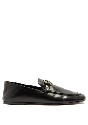 Ferlyn collapsible-heel leather loafers