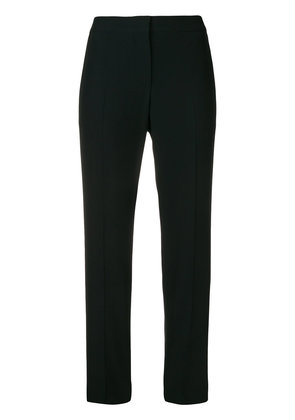 Alexander McQueen cropped straight leg trousers - Black