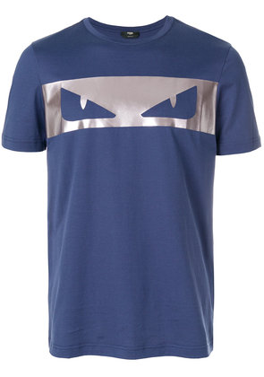 Fendi Bag Bugs T-shirt - Blue
