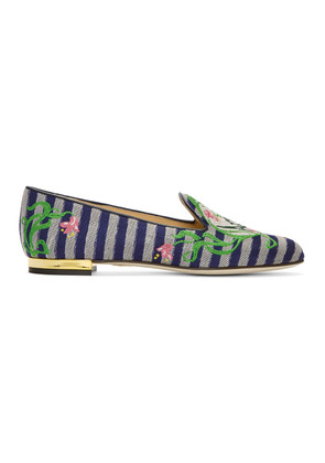 Charlotte Olympia Multicolor 'Amour' Slippers