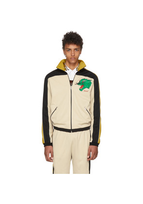 Gucci Yellow & Black Panther Track Jacket