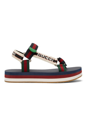 Gucci Multicolor Bedlam Sandals