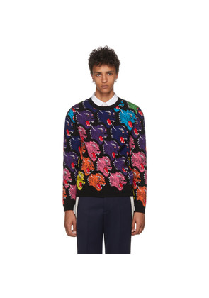 Gucci Black Panther Face Sweater