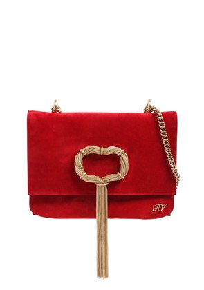 CHAIN BUCKLE EVENING BAG