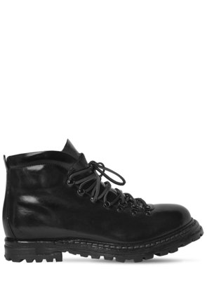 POLISHED LEATHER BOOTS