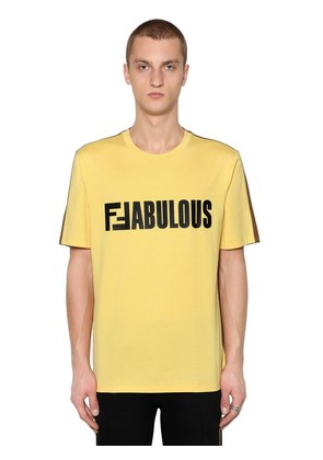 TWO TONE FFABULOUS JERSEY T-SHIRT